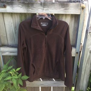 Very soft brown tek gear sweatshirt!!